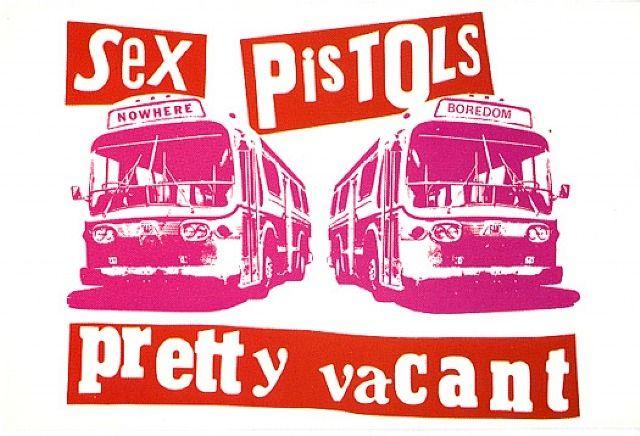 Sex Pistols - Jamie Reid design - Punk