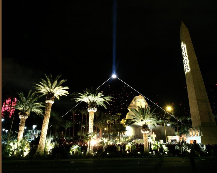 Las Vegas, Nevada...several times..but fave place to stay - by far the Awesome Luxor Hotel...HUGE swimming pools!