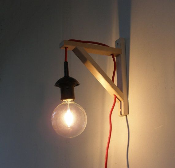 wall lamp minimalist wall sconce on etsy 3522 aud - Applique Chambre Ikea