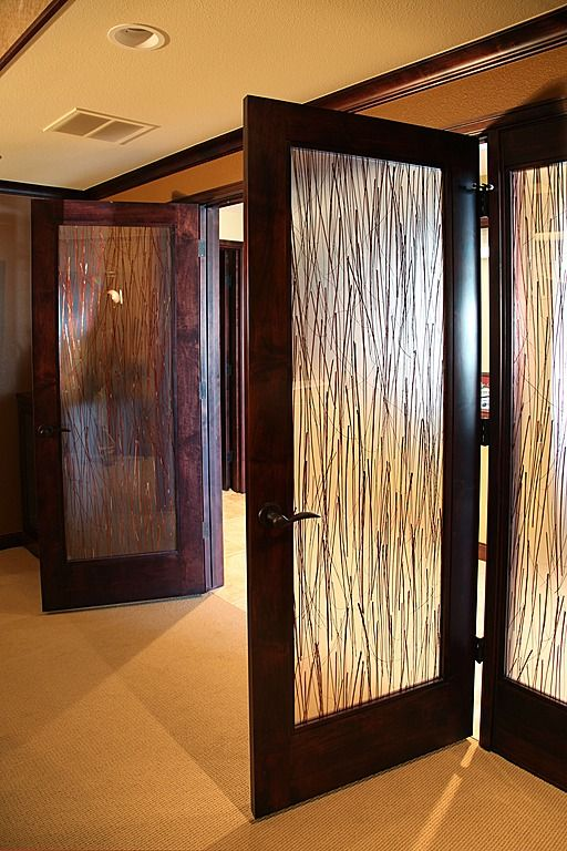 Glass Doors/Contemporary Hallway   Found On Zillow Digs; Love These Doors!