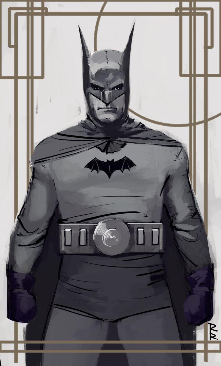 Classic Batman - Rod Reis