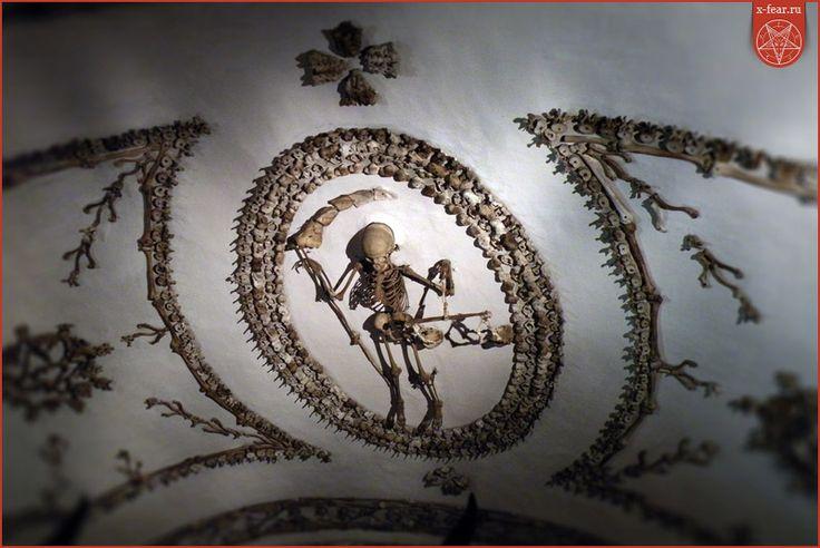 Оссуарии при церкви «Санта Мария делла-Кончеционе» в Риме