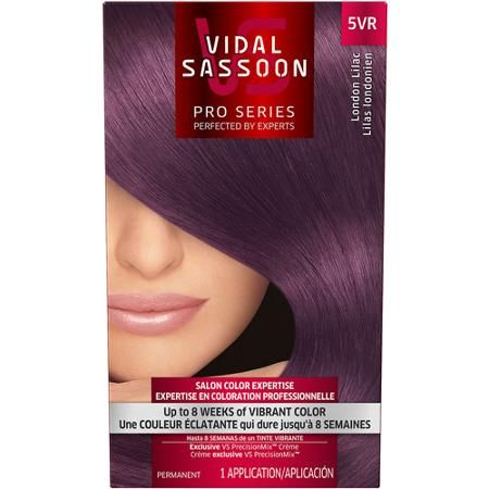 Vidal Sassoon Pro Series Hair Color, 5VR London Lilac. I think I have talked about trying this color out 1000 times!!