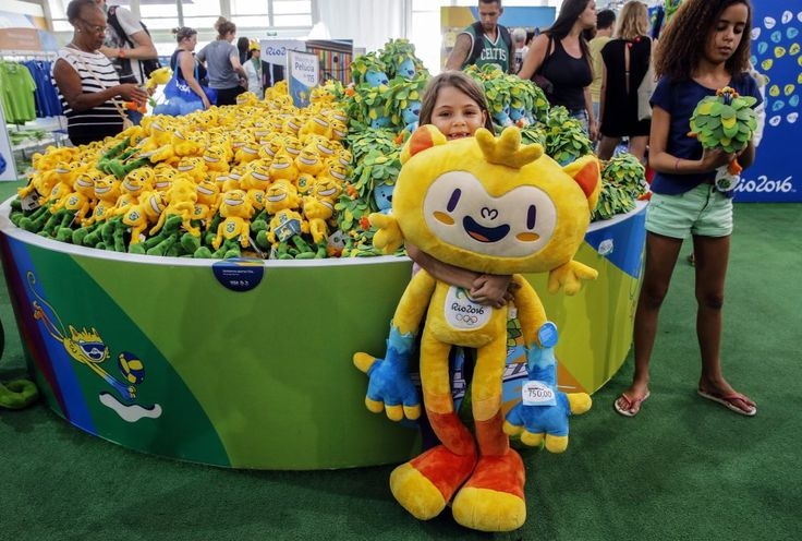 The Rio Olympics mascot is totally bizarre  -  August 4, 2016  -       A brief history of weird mascots from past games.