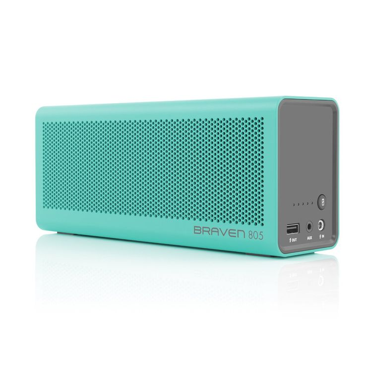 BRAVEN 805 Portable Bluetooth Speaker - A premium portable speaker that delivers premium quality in sound and build. Enjoy your music for up to 18 hours. | For more pins on Portable Bluetooth and Wireless Speakers, follow Best Buy Portable Speakers (www.pinterest.com/bestbuyspeakers/)