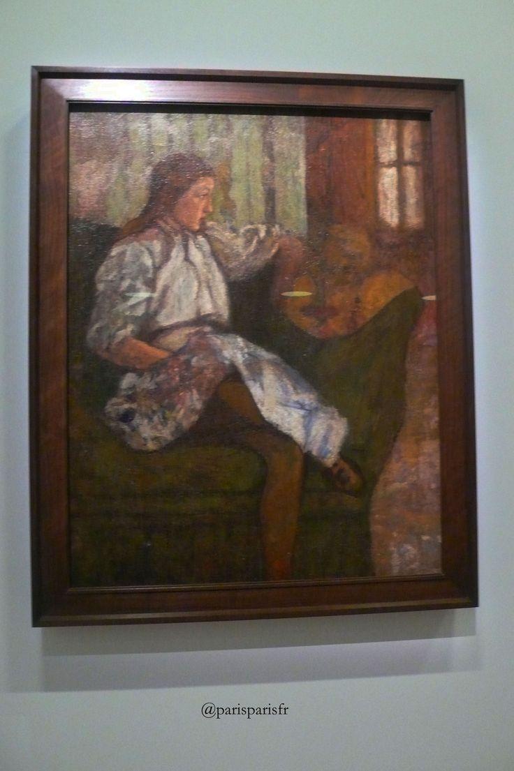 Marcel Duchamp, Portrait d'Yvonne Duchamp, 1907.