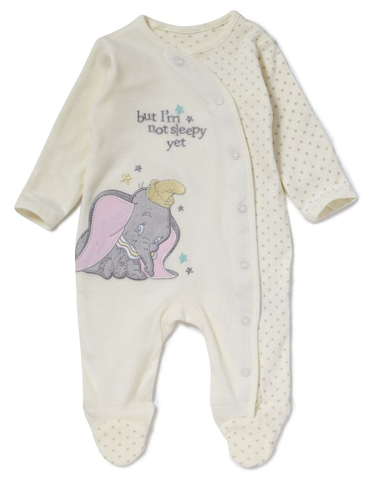Dumbo Baby Sleepsuit | Baby | George at ASDA