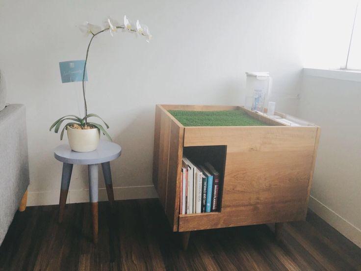 Peek a Cube and the Grey stool by HandyBunny   #HandyBunny #Earthmade  #Handmade