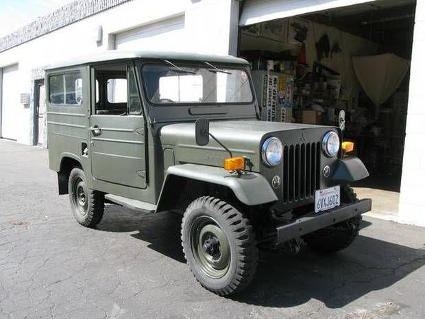 1974 Mitsubishi Jeep J20C