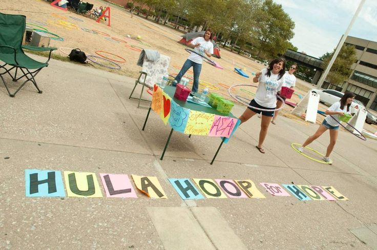 fun~raising: ASA hula hoop for hope- This could be fun and get a lot of campus involvement