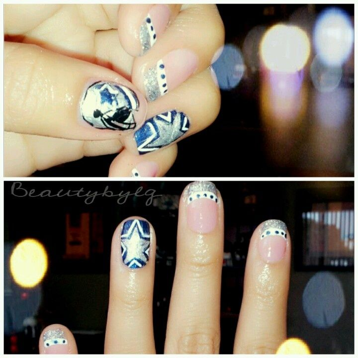 13 best dallas cowboys nail art made by someone else images on 1ede1271f2d17383b175b0887c911d1fg 720720 prinsesfo Choice Image