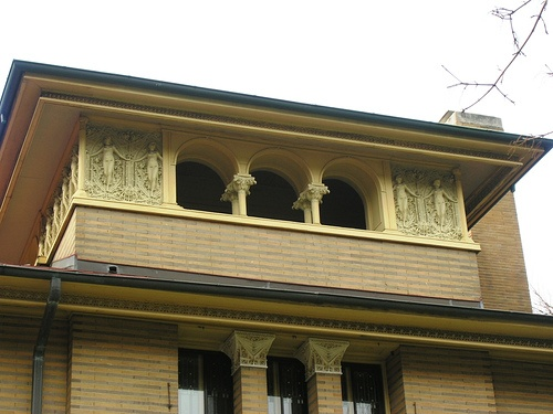 Frieze Done By Richard Boch At The Heller House