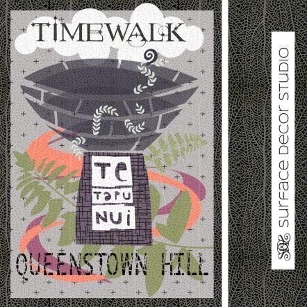 Make It In Design Summer School poster design, focus on typography.