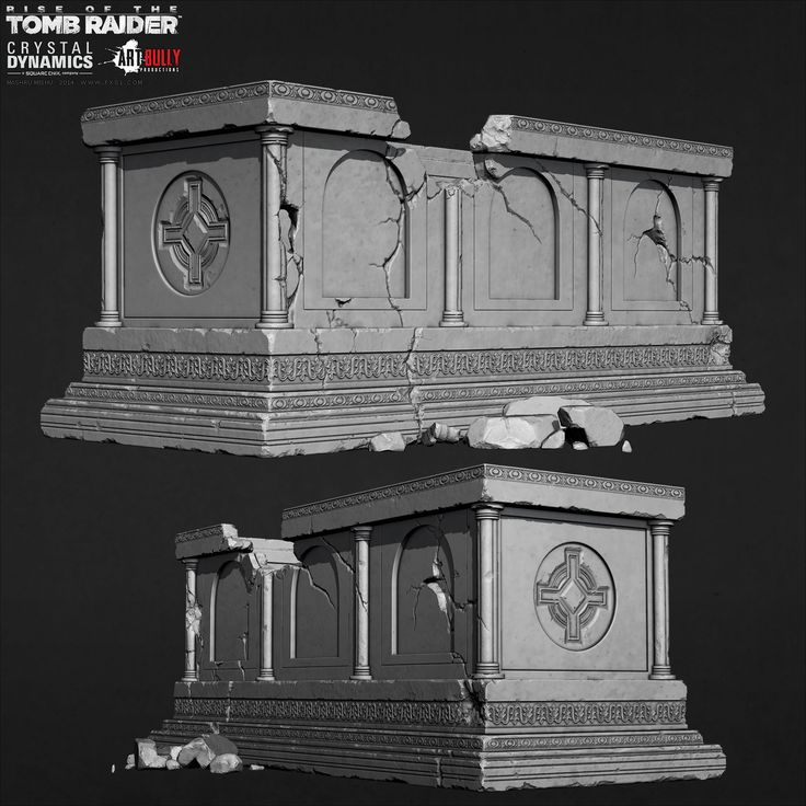 ArtStation - Rise of the Tomb Raider - Sarcophagus, Mashru Mishu