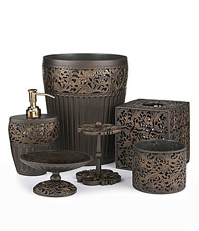 99 best images about home on pinterest comforters bed - Dillards bathroom accessories sets ...