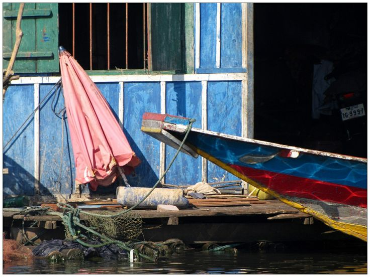The floating village, Cambodia