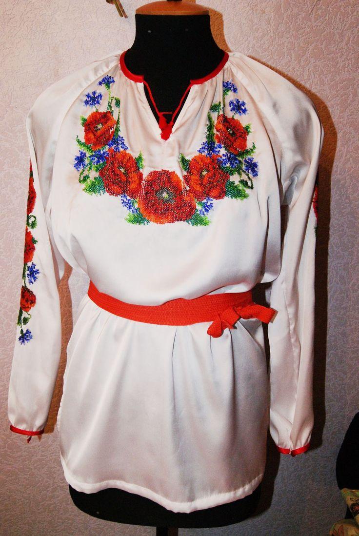 Сорочка для себя любимой   biser.info - всё о бисере и бисерном творчестве