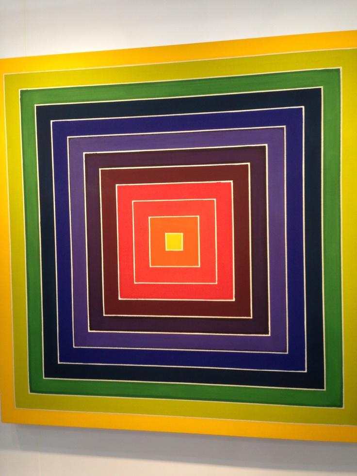 17 best images about frank stella art ideas on pinterest for Minimal art frank stella