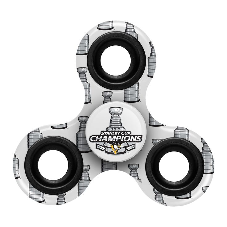 NHL Pittsburgh Penguins 2017 Stanley Cup Champions Printed Spinner