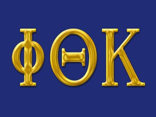 Phi Theta Kappa...honor society. Yes, that is me!!!