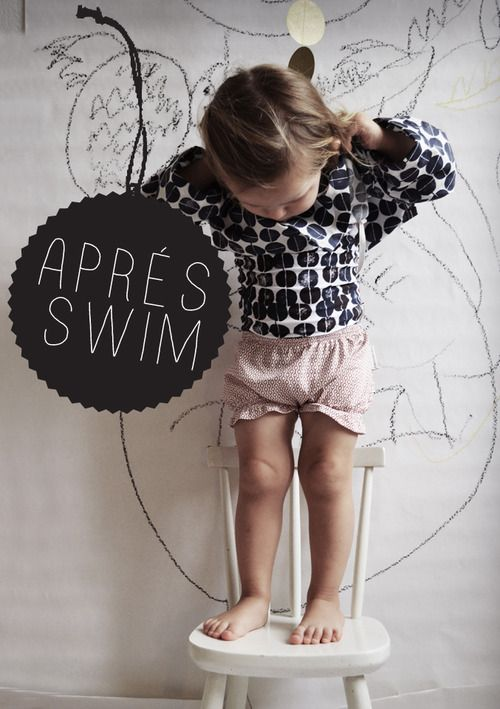Aprés Swim, unique sun protective kids clothes