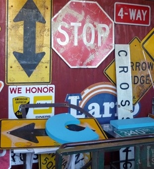 Architectural Savage can make the little details that makes a house a home. Learn why we love it. #clever: Tins Signs, Architecture Salvaged, Roads Signs Decoration, Decoration Idea, Vintage Signs, Bobs Villa, Bobs Villas, Signs Antique, Antiques Roads Signs