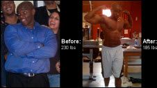 Nolan Code shed 45 pounds | Read his inspirational fitness transformation story and meal prep tips. Motivational before and after  success stories from men and women who hit their weight loss goals with training and dedication. | TheWeighWeWere.com
