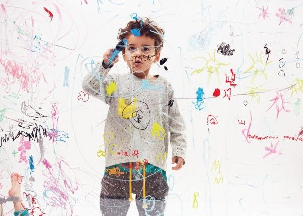 Indikidual cute kids fashion movie and fall/winter 14 collection