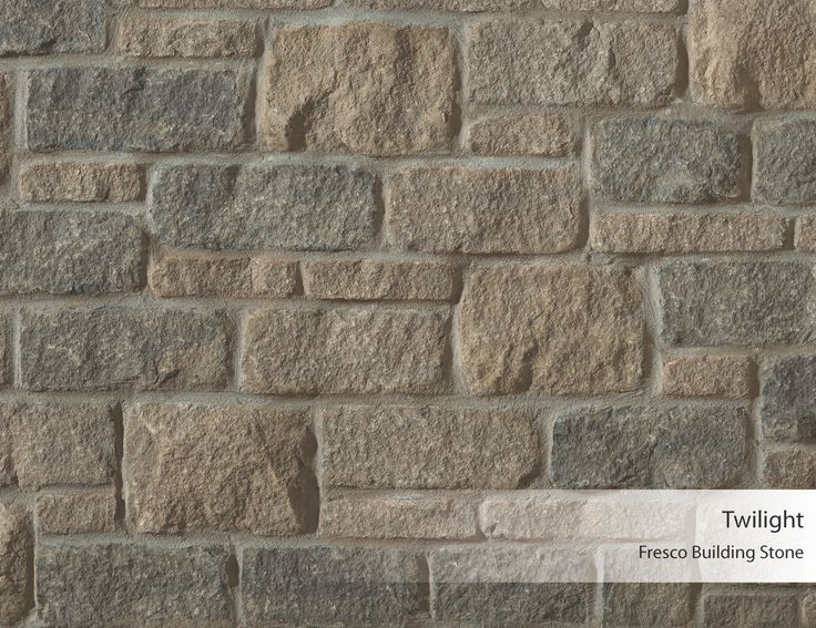 Fresco building stone twilight arriscraft building for Brick types and styles