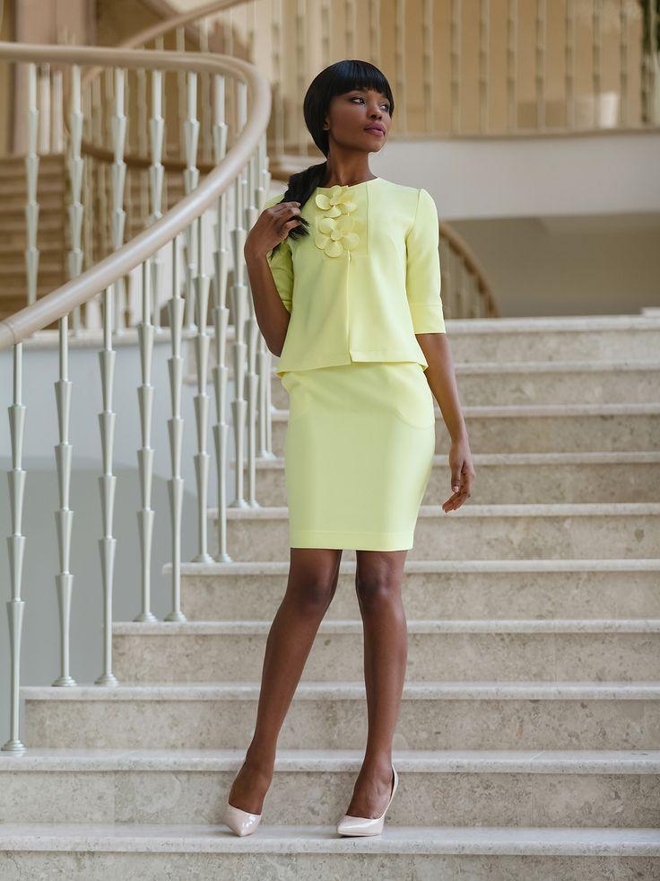 Костюм: жакет и юбка - Jadone Fashion 2279169