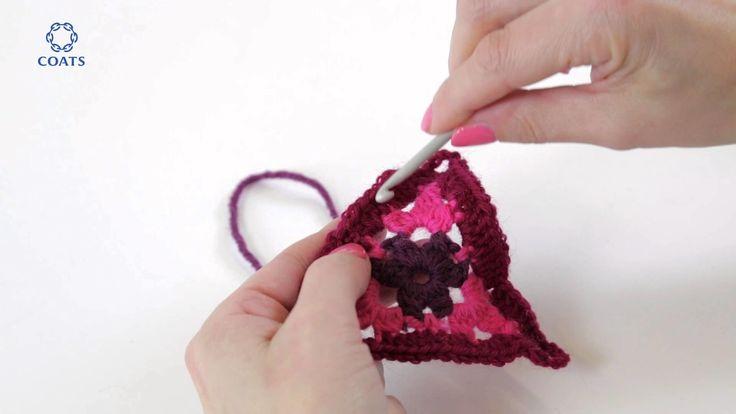 Patons Wool DK Crochet Along: Week 1 tutorial