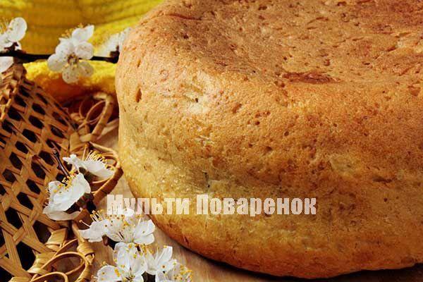 Хлеб в мультиварке Поларис: рецепт высокого мягкого хлеба на молоке с добавлением овсянки
