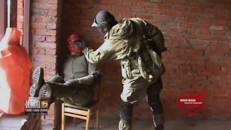 крав-мага : подготовка военных инструкторов