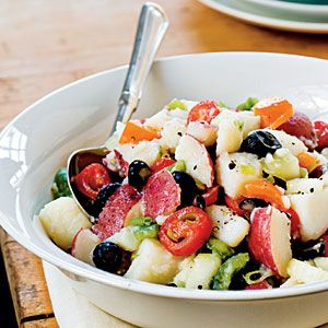 Light and Fresh Potato Salad!!!!! Looks great :) | MyRecipes.com