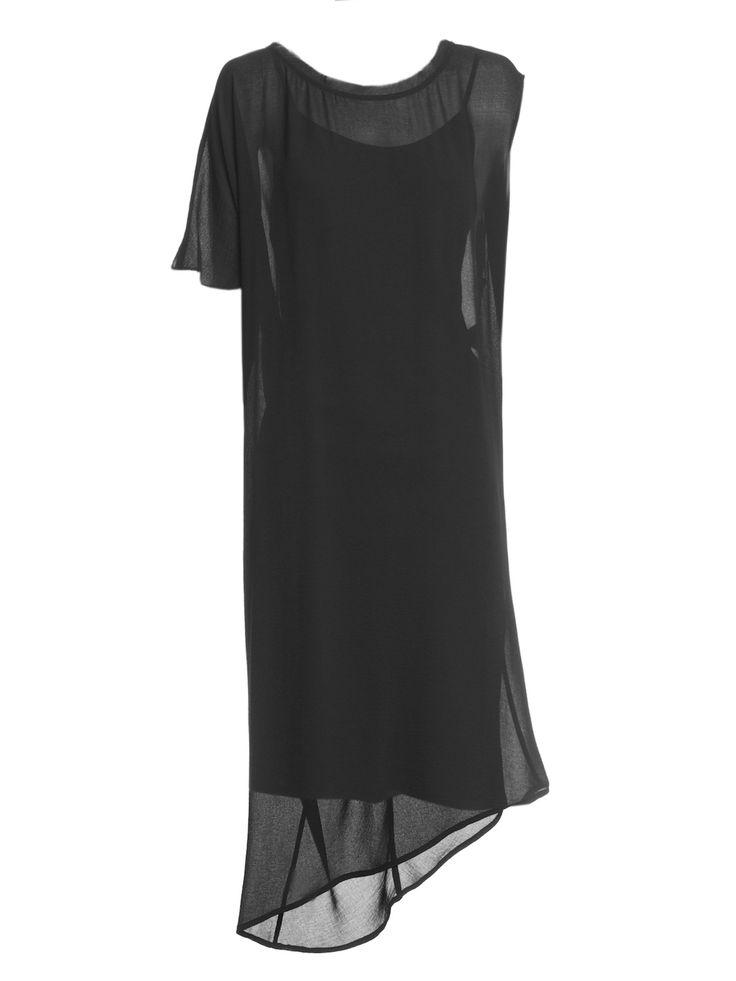 Howard Showers - Avis Asymmetrical Draped Dress, $249.00 (http://shop.howardshowers.com.au/avis-asymmetrical-draped-dress/)