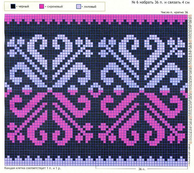 Patrón tapestry crochet