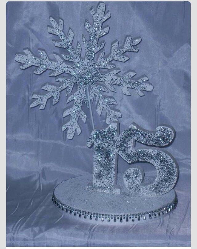 Mis Quinces Mis Quinces Decorations Snowflake