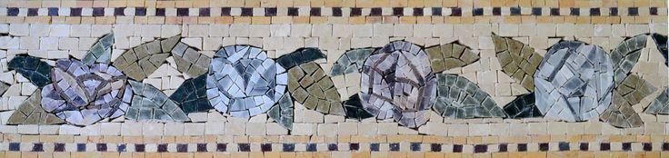 Mosaic Tile Patterns - Blue Bells