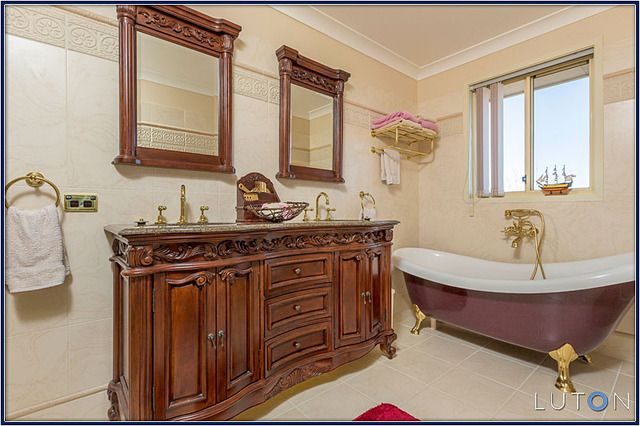 """""""Master Bathroom"""" - I don't think I could ever feel clean in here..."""