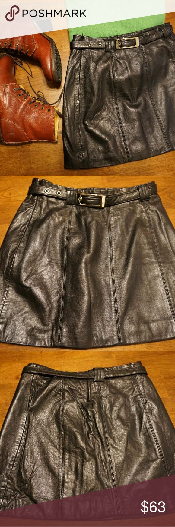 1000 ideas about leather mini skirts on