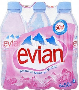 Evian Water- Skin Therapy!