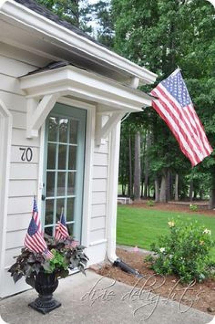 Best 25 front door overhang ideas on pinterest front for Entryway roof designs
