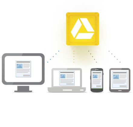 Google Drive is coming to you. An awesome stocking space for musicians for example.