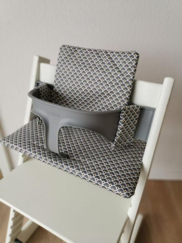 Nähanleitung Sitzkissen für Tripp Trapp (Stokke)