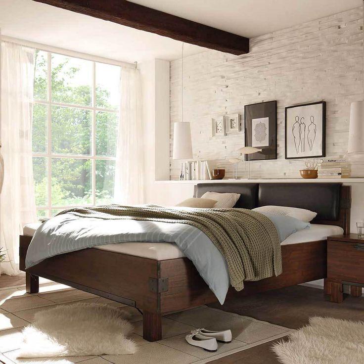Die besten 25+ Bettrahmen aus Leder Ideen auf Pinterest Luxus - schlafzimmer mit polsterbett