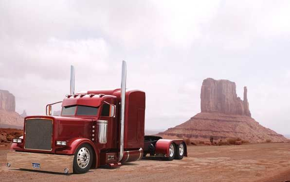"American Custom Big Rigs - Tricked out Truck Photographs - MATS 2008 - Roger Snider's ""Ultra Rigs of the World"""