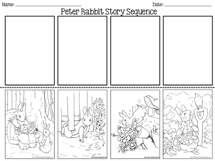 Peter Rabbit Sequence perfect for Easter!