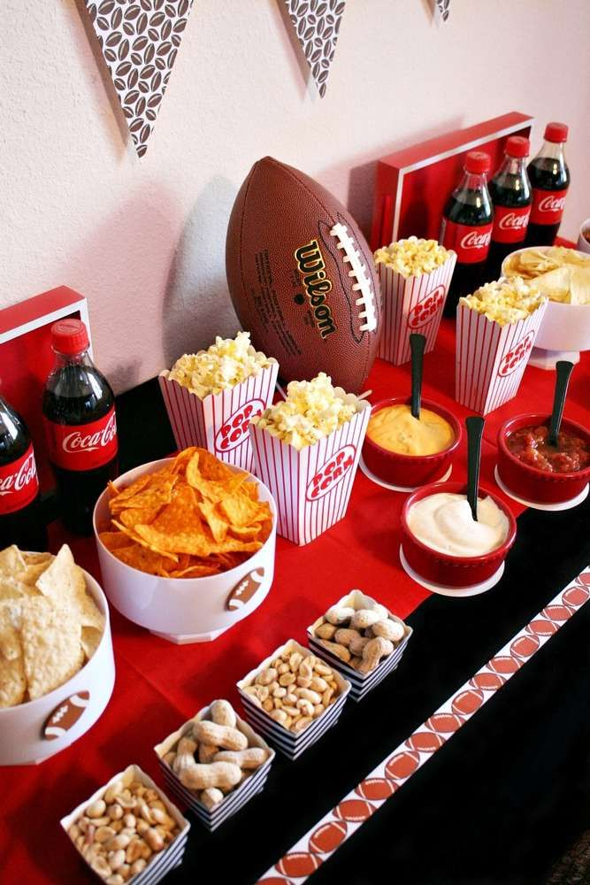 311 Best Football Party Ideas Images On Pinterest