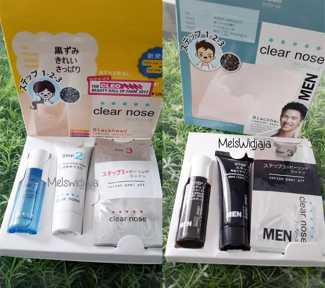 No more black head with Clear Nose for Men
