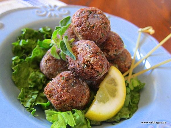 Octopus Meatballs